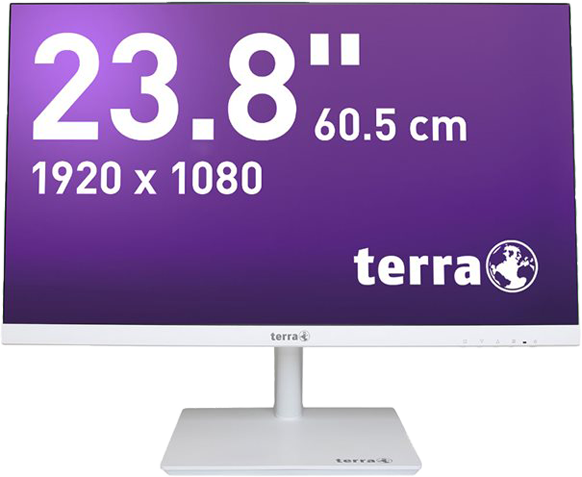 Bildschirm TERRA LED 2464W weiß HDMI GREENLINE PLUS